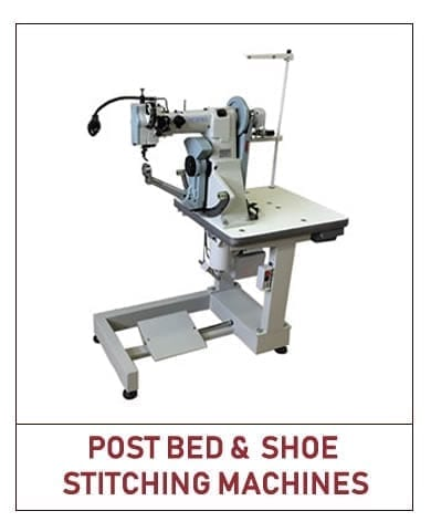 postbed and shoe stitching machines