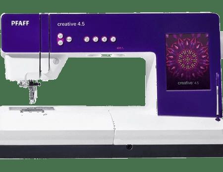 PFAFF Creative 4.5 Sewing & Embroidery Machine