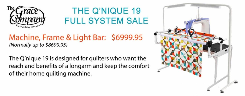 Grace Co. Q'nique 19 Full System Sale