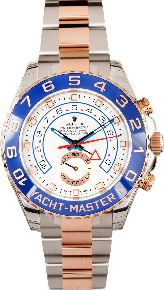 Rolex Yachtmaster 2 Rose Gold Save On 100 Authentic