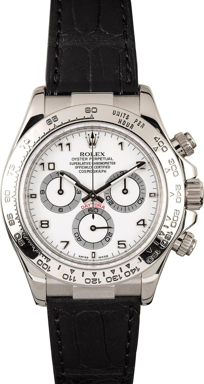 Rolex Daytona 116519 White Gold