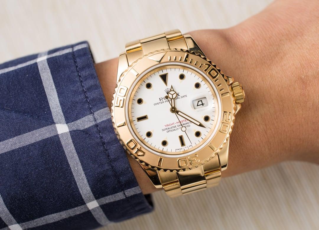 Rolex Yacht Master 16628 Gold