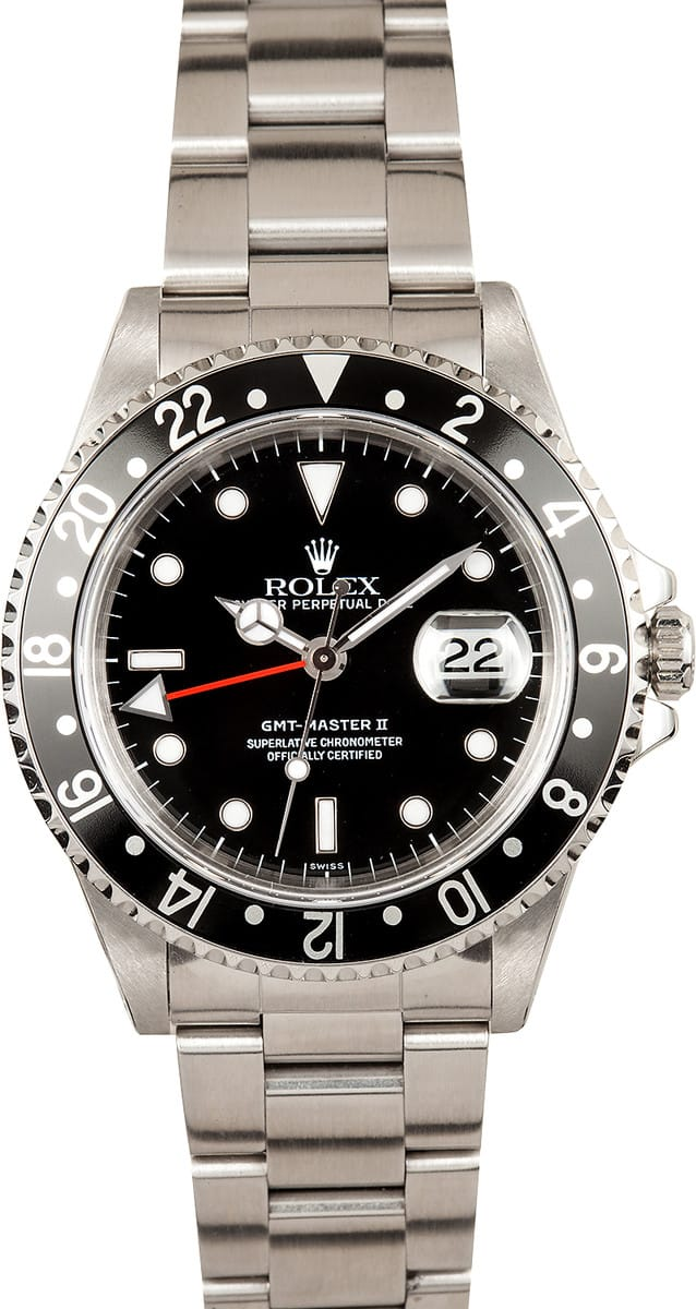 Mens Rolex GMT Master II Model 16710 Save Up To 50 At