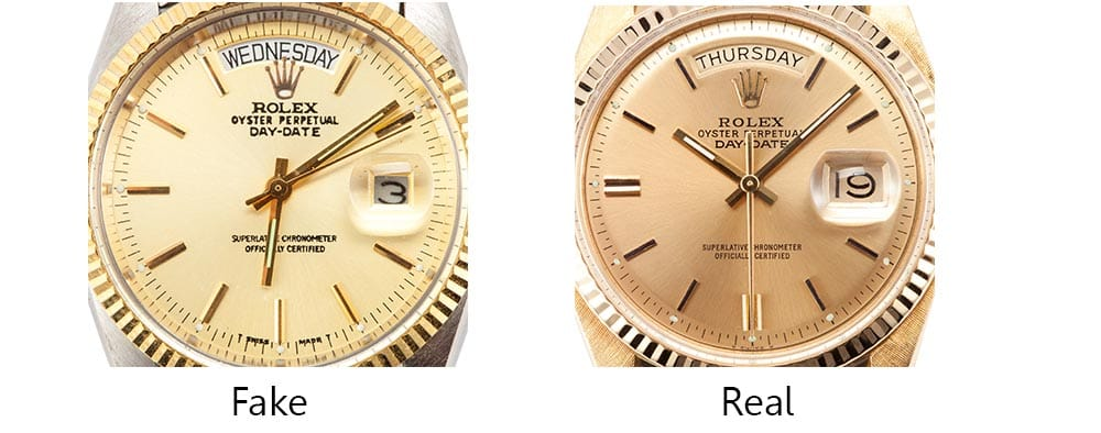 Fake Rolex Oyster Perpetual Day Date Diamond