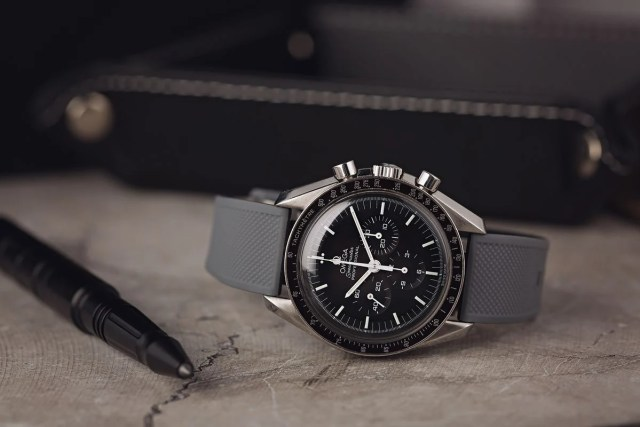 Omega Speedmaster Professional Moonwatch Rubber Strap