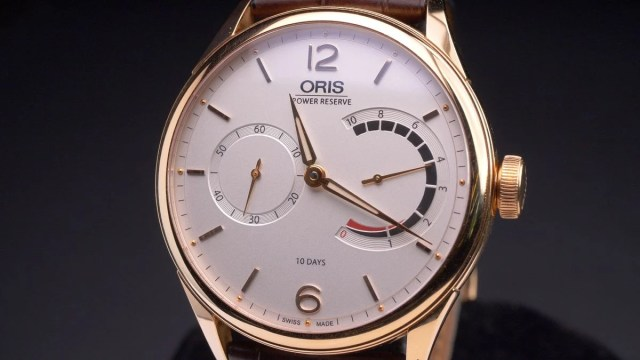 Oris Artelier Watch Collection Review 110 Years Limited Edition 10 Days