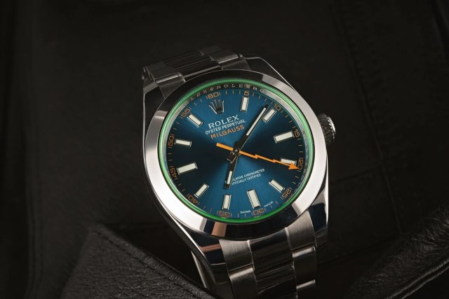 Rolex Milgauss Ultimate Buying Guide 116400GV Z-Blue Dial