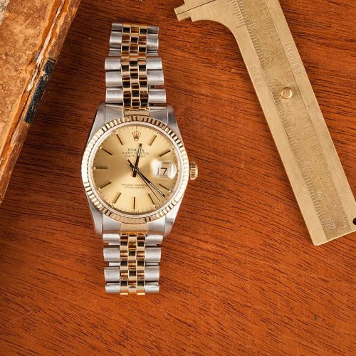 Are Rolex Watches Waterproof Datejust two-tone