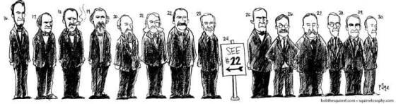 U.S. Presidents#16-30 by Frank Page