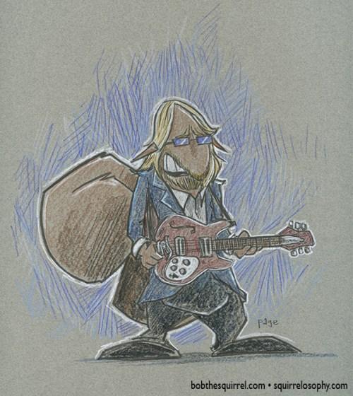 Bob the Squirrel as Tom Petty