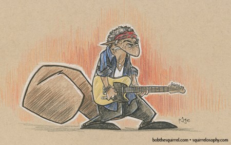 Rolling Stones guitarist Keith Richards as Bob the Squirrel