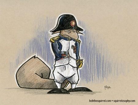 Military leader Napoleon Bonaparte
