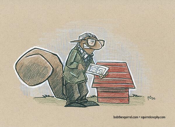 Cartoonist Charles Schulz