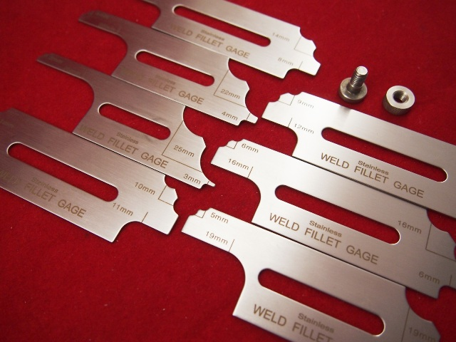 Weld Sizing Gauge Weld Gap Measuring Gauge Welder Fillet