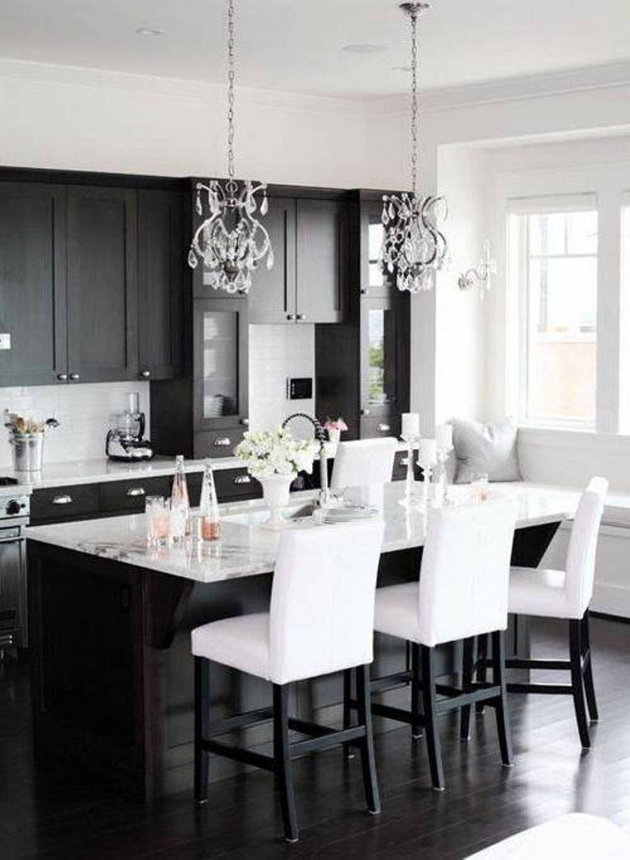 Black And White Kitchen Ideas