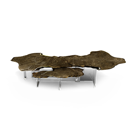 Monet Patina Center Table Exclusive Furniture
