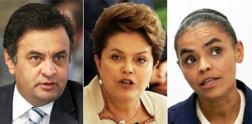 Marina vence Dilma no 2º turno, aponta Datafolha