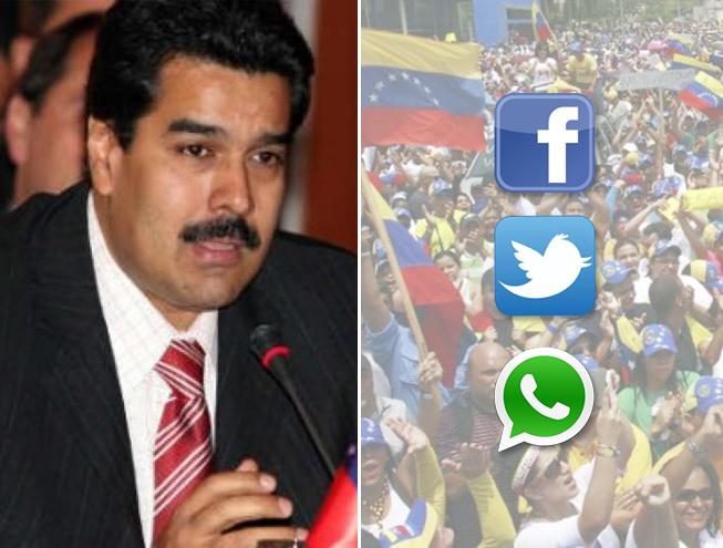 Governo da Venezuela bloqueia acesso a redes sociais e apps mensageiros