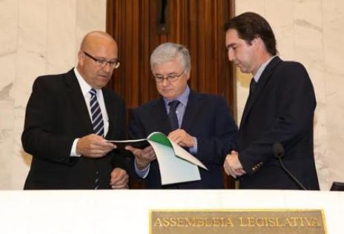 Rossoni recebe Agenda Paraná