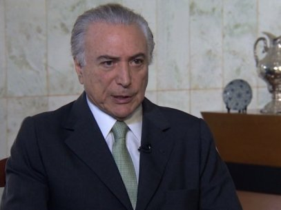 Temer à CNN: Brasil não é 'republiqueta capaz de golpe'