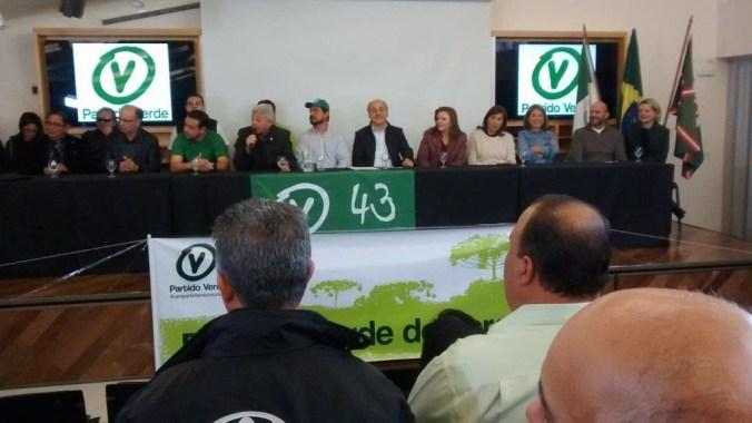 PV lança candidatos e reafirma apoio a Fruet