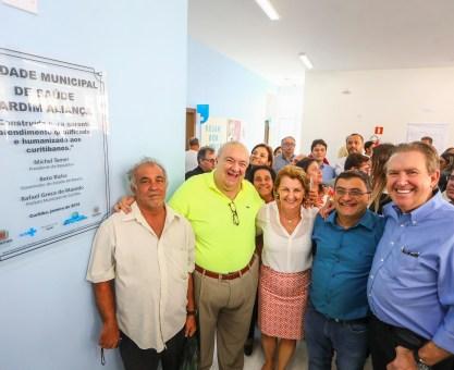 Greca, Ducci e Caputo inauguram mais uma unidade de saúde em Curitiba