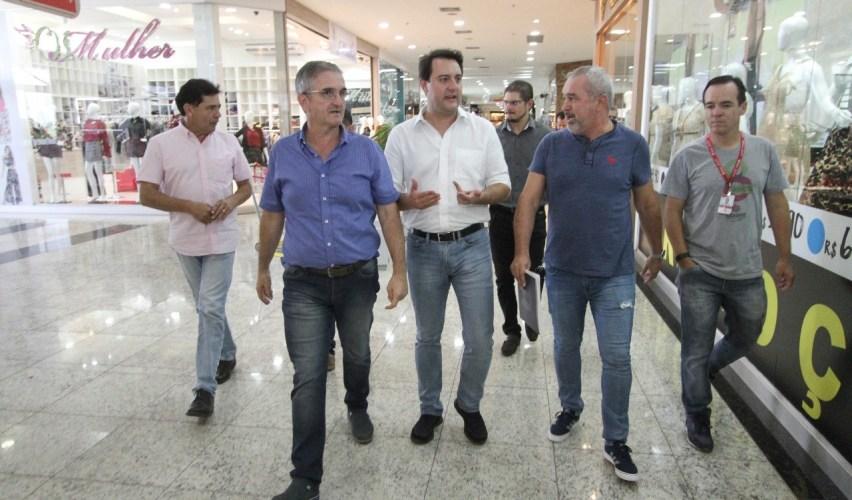Ratinho Júnior destaca os polos industriais no Paraná