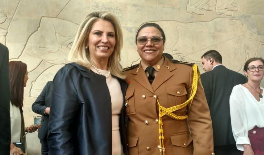 Cida Borghetti nomeia a primeira mulher no comando da Polícia Militar no Paraná