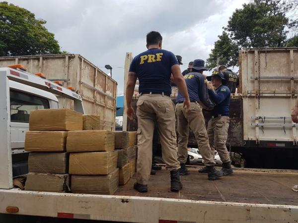 Cresce a apreensão de drogas e armas nas estradas federais no Paraná