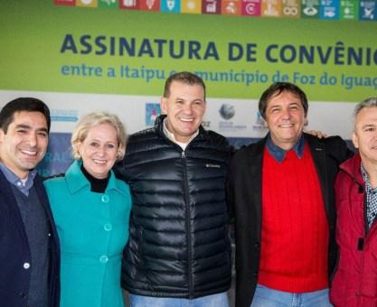 Evandro Roman destaca parceria de Itaipu para investimentos em Foz do Iguaçu
