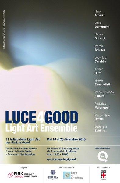 luce4good light art milano