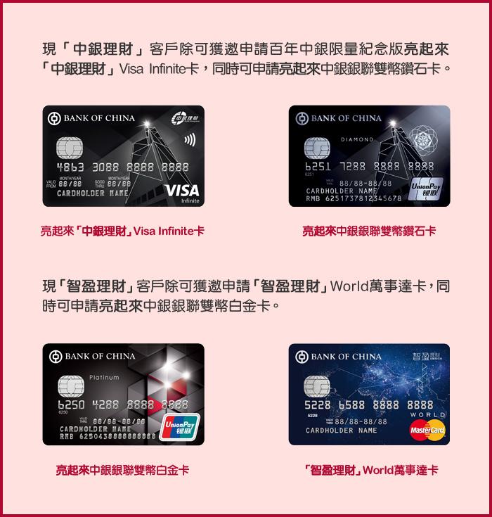 百年中銀限量紀念版中銀信用卡   百年行慶   中國銀行(香港)有限公司