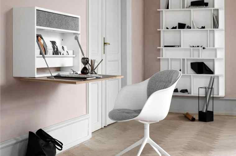 boconcept experience Cupertino Wall Altbau B - Cupertino Wall Office - Schreibtisch und Schrank in Einem