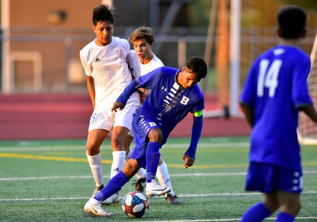 Broomfield High School's Gustovo Gutierrez moves ...