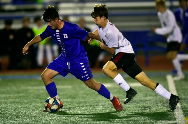 Broomfield High School's Evan Judd moves ...
