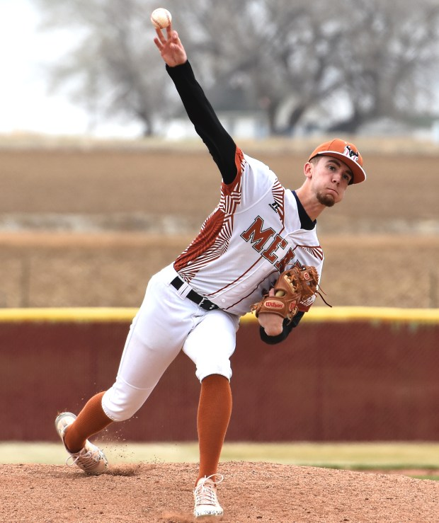 Mead High School's Nick Jacobs delivers ...