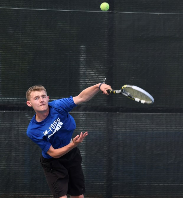 Broomfield's Cameron Lupo takes a swing ...