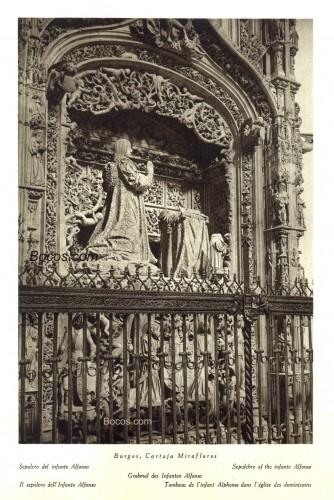 sepulcro del infante Don Alfonso