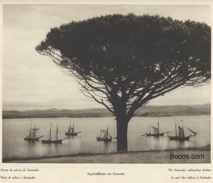 puerto de veleros de Santander