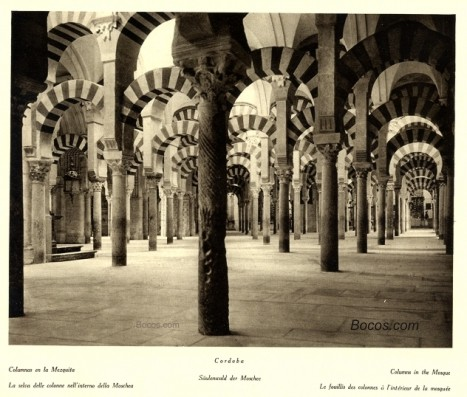 columnas de la Mezquita e Córdoba