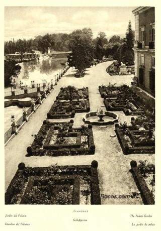 jardin del palacio de Aranjuez