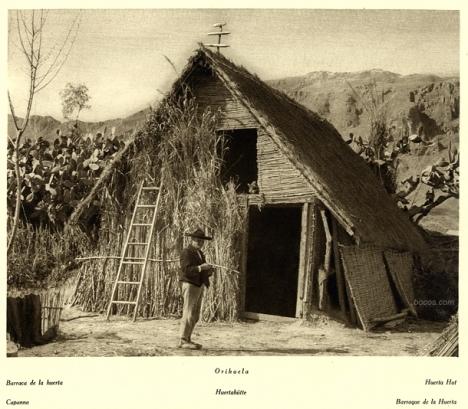 barraca de la huerta de Orihuela