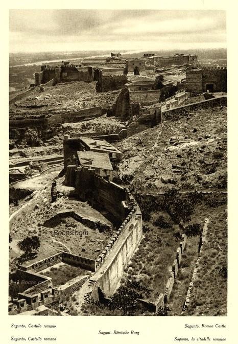 castillo romano de Sagunto