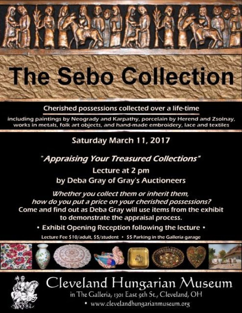 Appraising Your Treasured Collections @ Cleveland Hungarian Museum