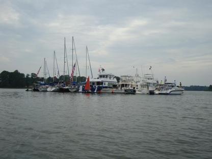 Raft-up on the Chesapeake