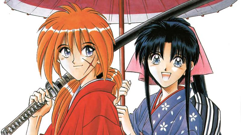 Rurouni Kenshin y Kaoru