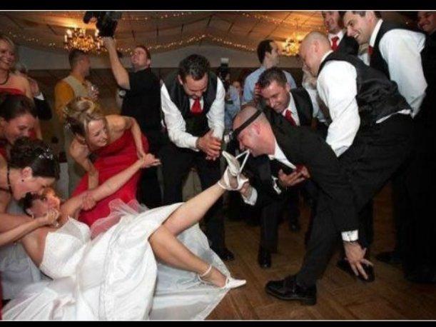 bloopers de bodas