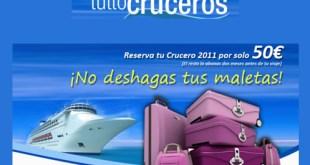 Imperdibles Cruceros de Semana Santa