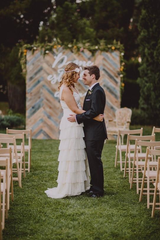 novios ceremonia www.bodasdecuento.com