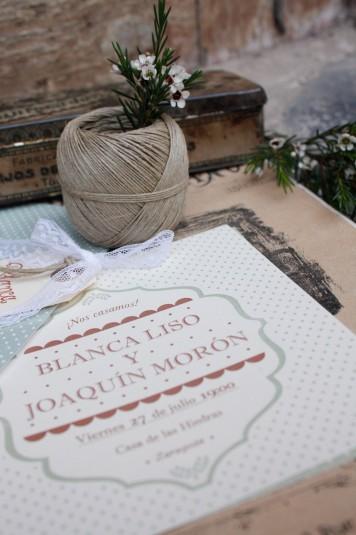 invitaciones románticas www.bodasdecuento.com